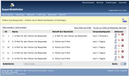 PHP Newsletter Software - Automatisches Follow-Up-Mail-Responder Script