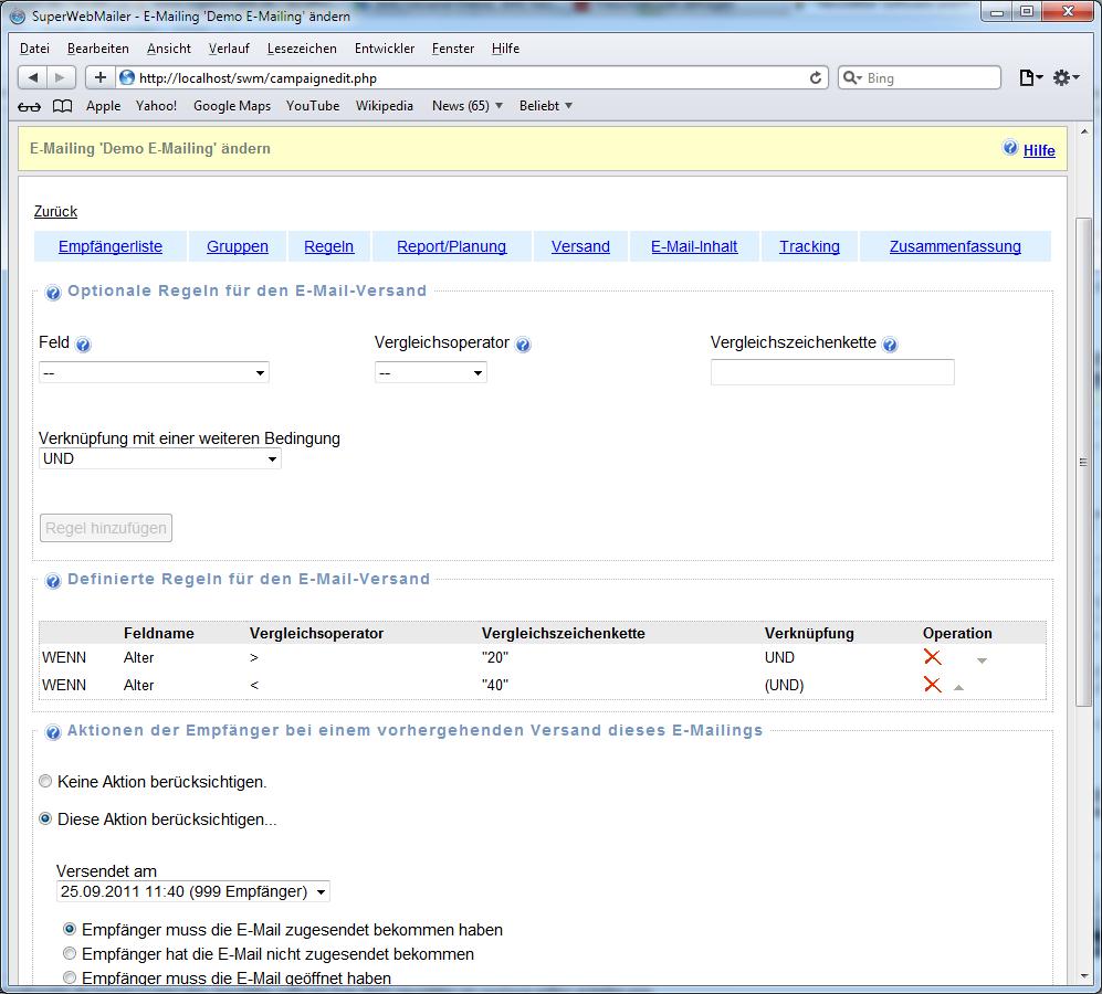 Newsletter erstellen, Newsletter versenden, Newsletter Software ...
