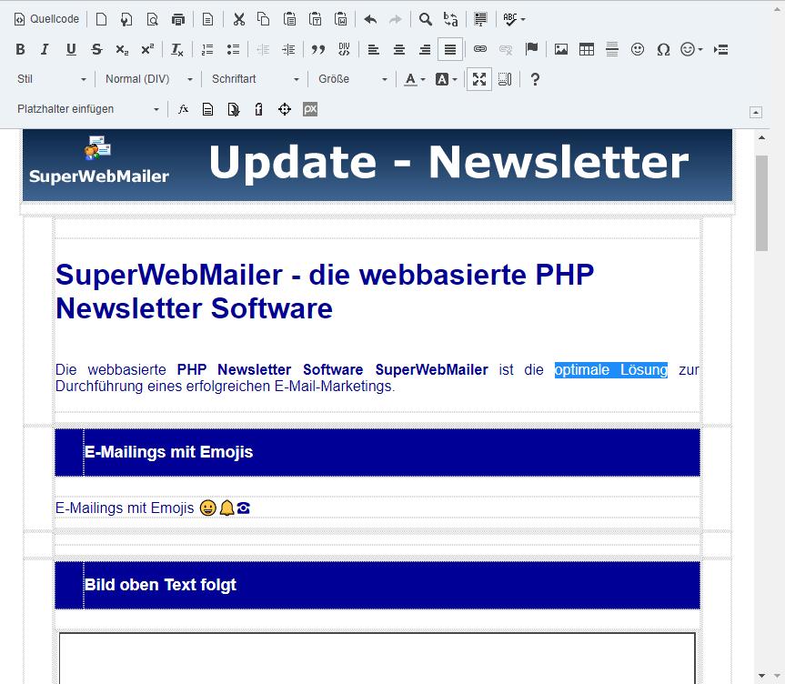 newsletter erstellen newsletter versenden newsletter software php newsletter software. Black Bedroom Furniture Sets. Home Design Ideas