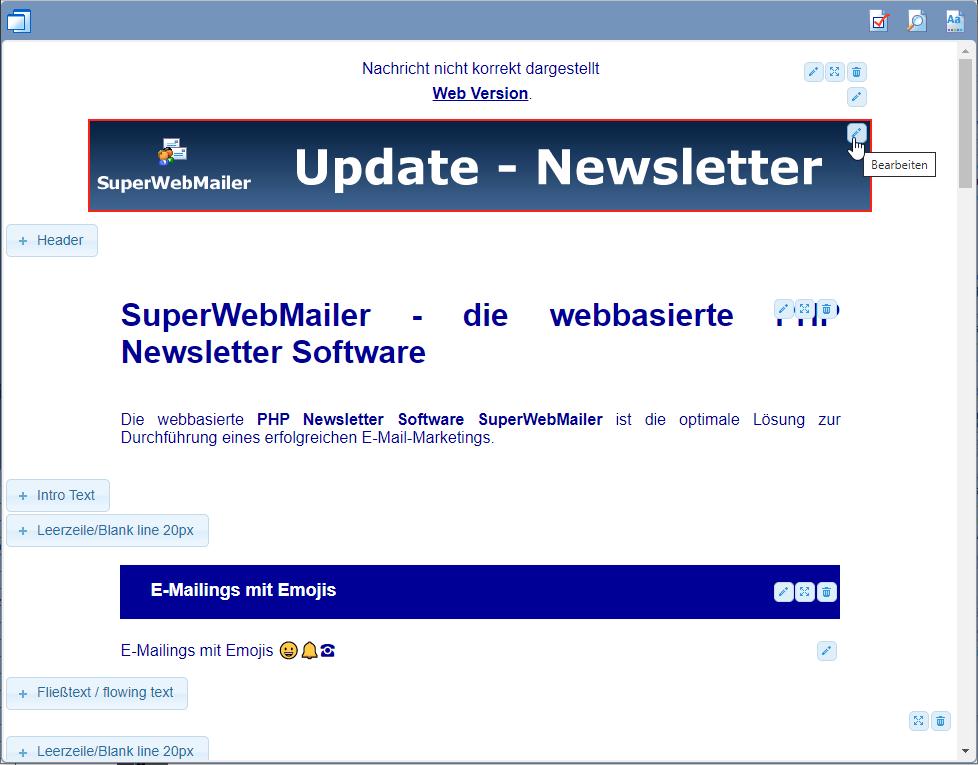 Newsletter erstellen, Newsletter versenden, Newsletter Software, PHP ...